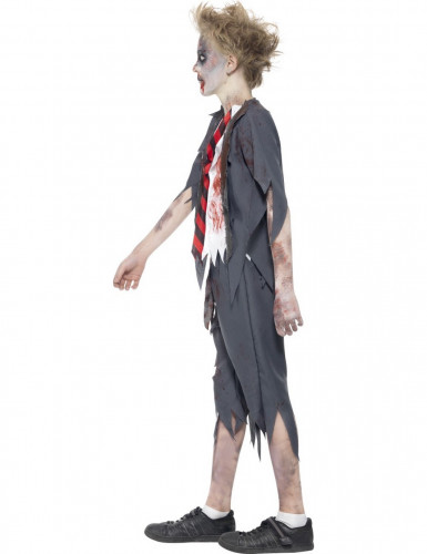 Costume per ragazzo studente zombie-1