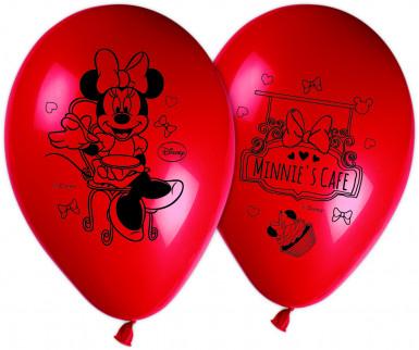 8 palloncini originali Minnie café