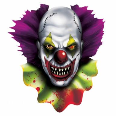 Decorazione Halloween clown horror