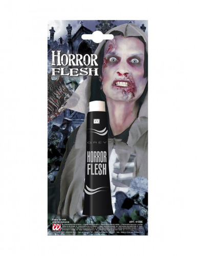 Trucco effetto pelle grigia per Halloween