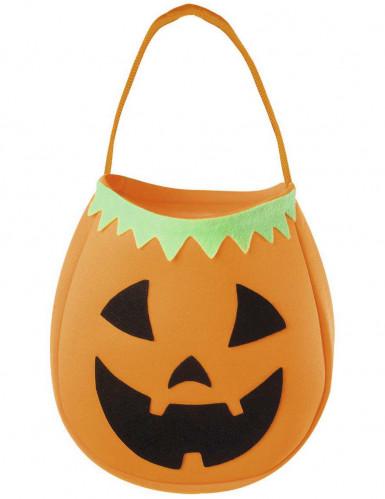 Borsa zucca Halloween da bambino
