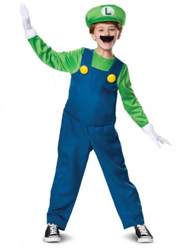 Costume originale da Luigi™ versione deluxe per bambino