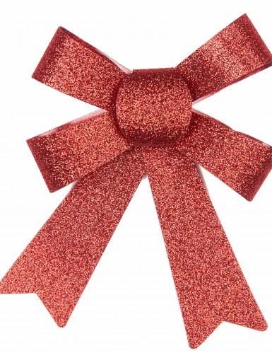 Decorazione pacchetti fiocchetti rossi-1
