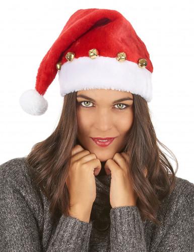 Cappello con sonagli Babbo Natale-2