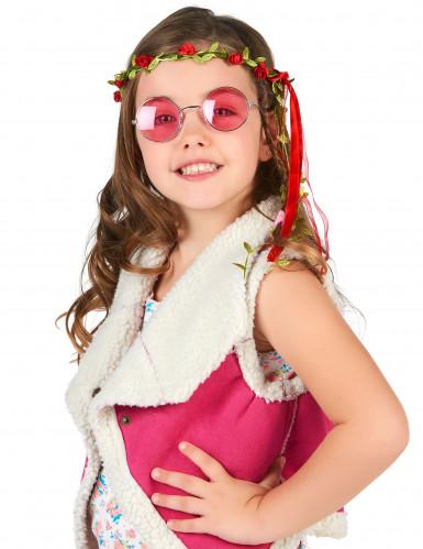 Coroncina con fiori da bambina