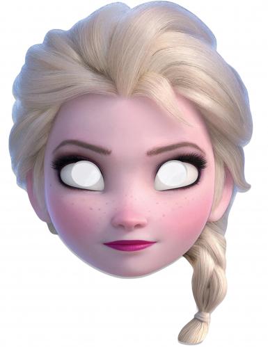 Maschera in cartoncino Elsa Frozen™