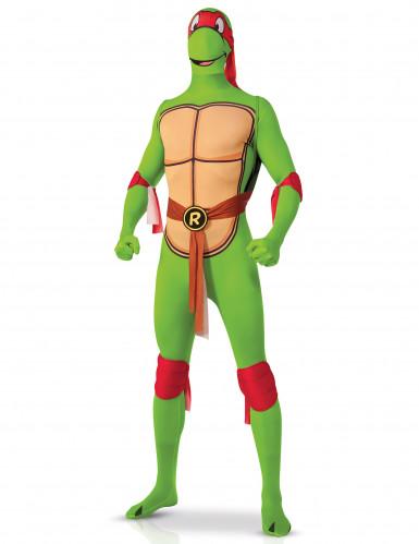 Costume seconda pelle da Tartaruga Ninja Raffaello per adulto