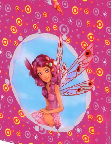 Tovaglia rosa fucsia in plastica Mia and Me™-1