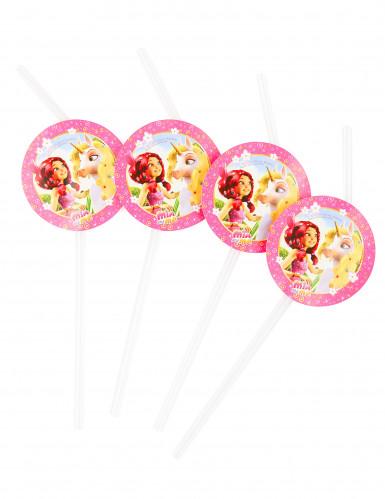 Confezione da 6 Cannucce Mia and Me™ con medaglione