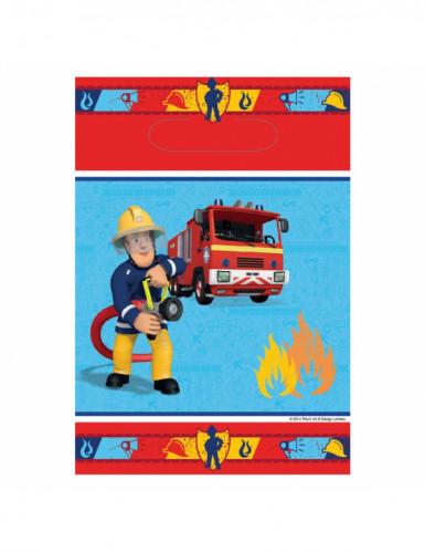 8 sacchetti in carta raffiguranti Sam il Pompiere™