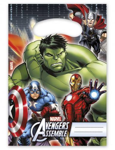 Lotto di 6 Sacchetti per caramelle The Avengers™
