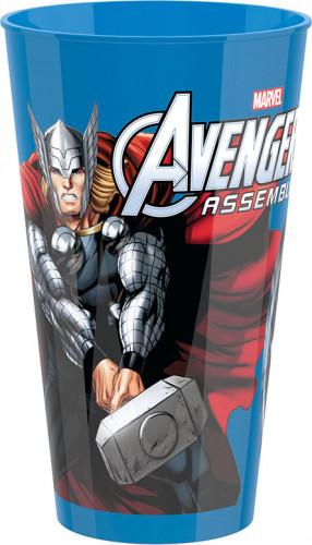 Bicchiere di plastica rigida degli Avengers
