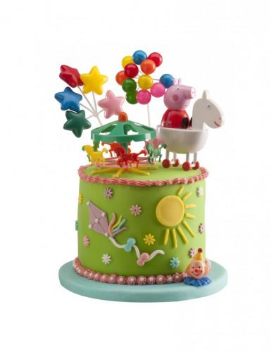 Kit statuine decorative per torta Peppa Pig™-1