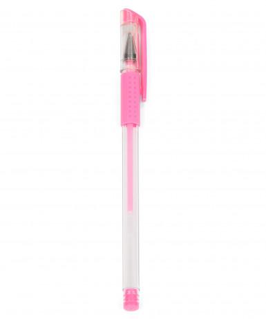 Penna stilo in gel di colore rosa