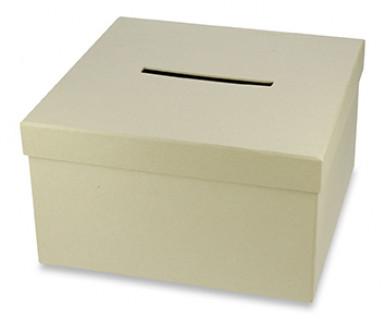 Urna cartonata quadrata kraft naturale