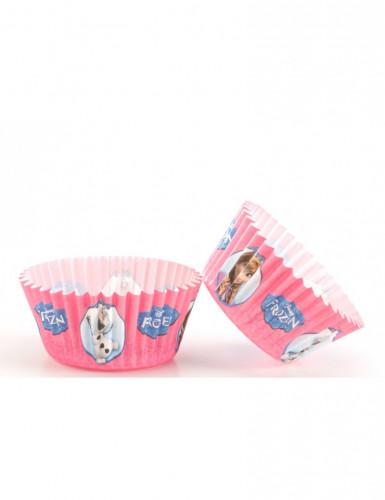 Confezione 50 pirottini rosa Frozen™