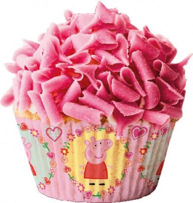 50 cestini per cupcake Peppa Pig™