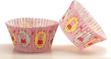 50 cestini per cupcake Peppa Pig™-1