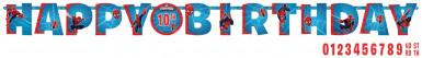 Ghirlanda Buon Compleanno Spiderman™ 170 cm