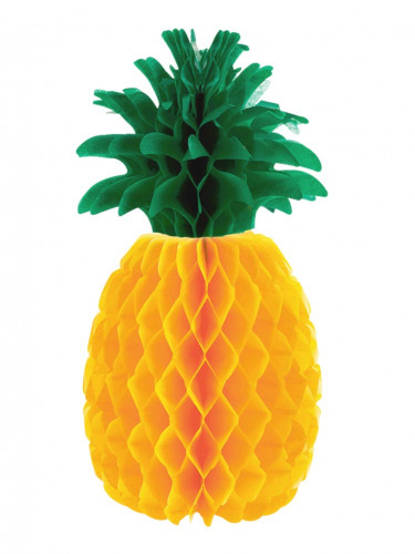 Ananas in carta per decorazione tavolo
