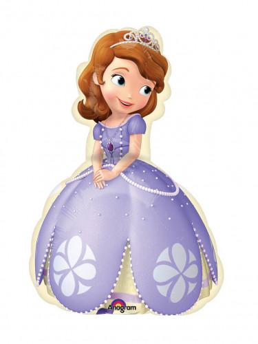 Pallone  di alluminio con Sofia la principessa™ diametro da 40 centimetri