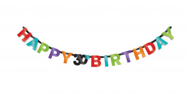 Ghirlanda 30 anni Celebrate your birthday