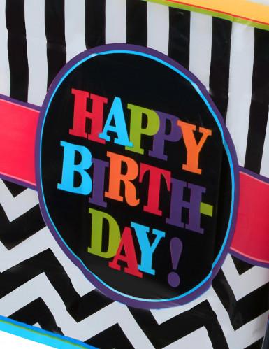 Tovaglia in plastica per compleanno-1