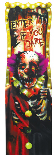 Decorazione da parete clown horror