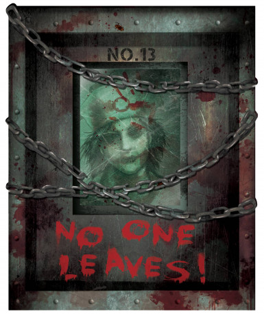 12 Decorazioni di Halloween Manicomio degli orrori-2