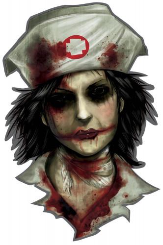 12 Decorazioni di Halloween Manicomio degli orrori-3