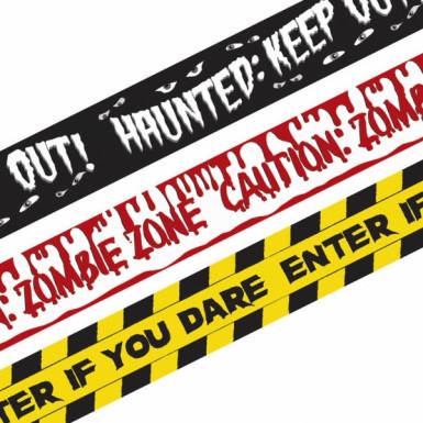 Confezione con 3 bande decorative per Halloween
