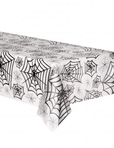 Tovaglia plastica trasparente decorata ragnatele