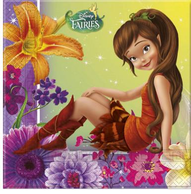 20 Tovagliolini di carta a tema Disney Fairies™