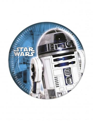8 Piattini di carta con decoro Star Wars™