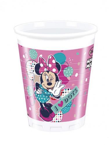 8 Bicchieri di plastica con stampa Minnie™