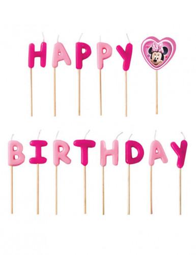 Candeline Happy Birthday a tema Minnie™