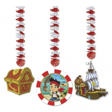 3 decorazioni da appendere originali Jake e i Pirates