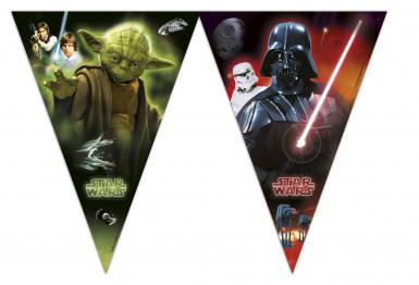 Ghirlanda bandierine in plastica Star Wars™