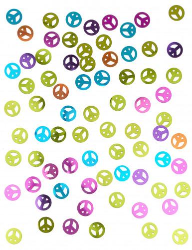 Coriandoli da tavolo simbolo della Pace-1