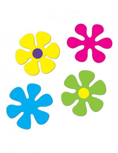 4 decorazioni a tema floreale