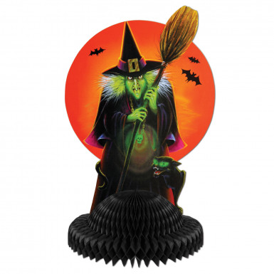Centro tavola strega Halloween