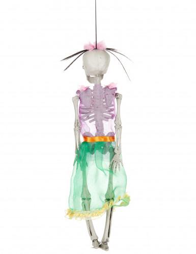 Scheletro Halloween donna-1