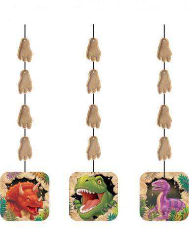 3 ghirlande da appendere per compleanno con Dinosauri