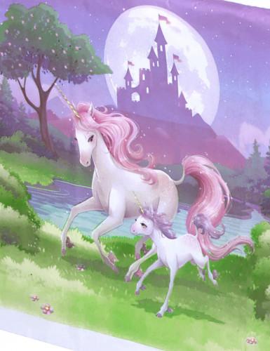 Tovaglia Unicorno in plastica-1