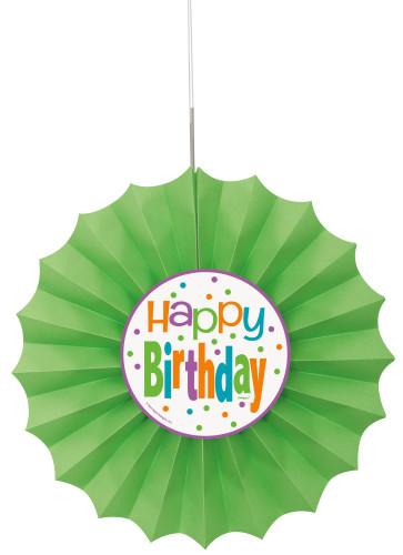 Festone in carta Happy Birthday