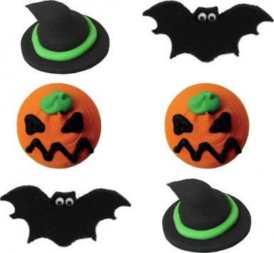 Decorazioni di zucchero per dolci di Halloween