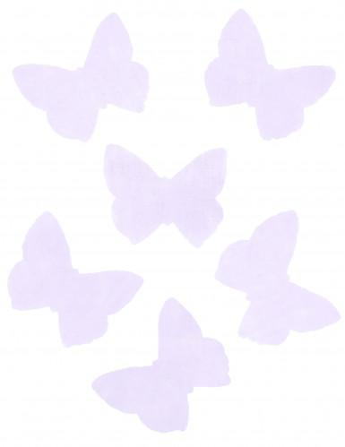 50 farfalle in organza color lilla