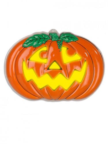 Zucca di plastica da appendere per Halloween