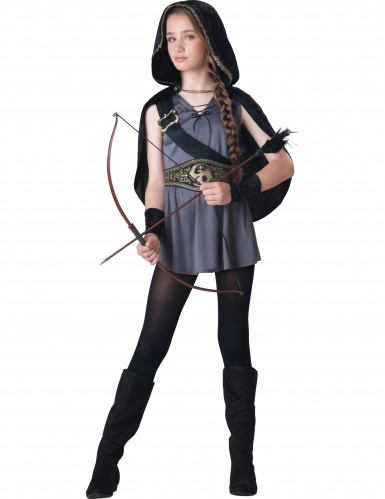 Costume da Cacciatrice per bimba<br />- Premium