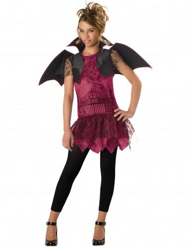 Costume pipistrello ragazza <br />- Premium